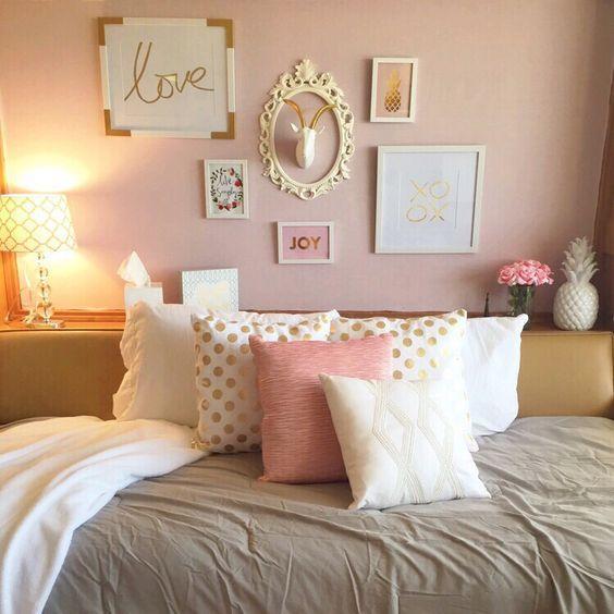 Girly Bedroom Decorating Ideas - Julia Palosini