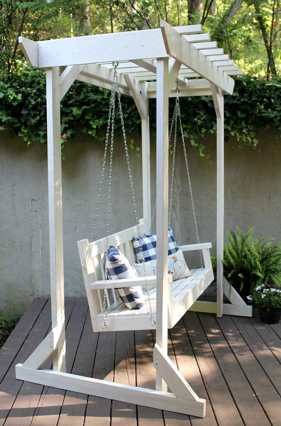 Diy Outdoors Hang Relaxing Porch Swing Julia Palosini