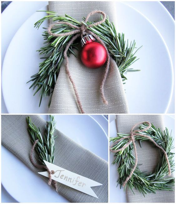 50 christmas table decorations ideas settings and centerpieces for christma - Pinterest deco table ...