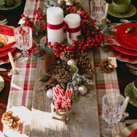 50 Christmas Table Decoration Ideas - Settings and Centerpieces for Christmas Table