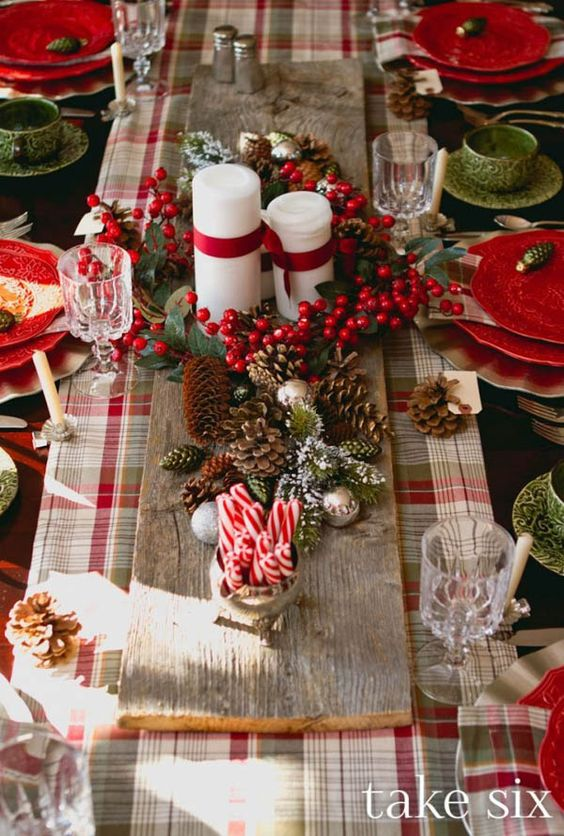 50 christmas table decoration ideas settings and centerpieces for christmas table - How To Decorate A Christmas Table