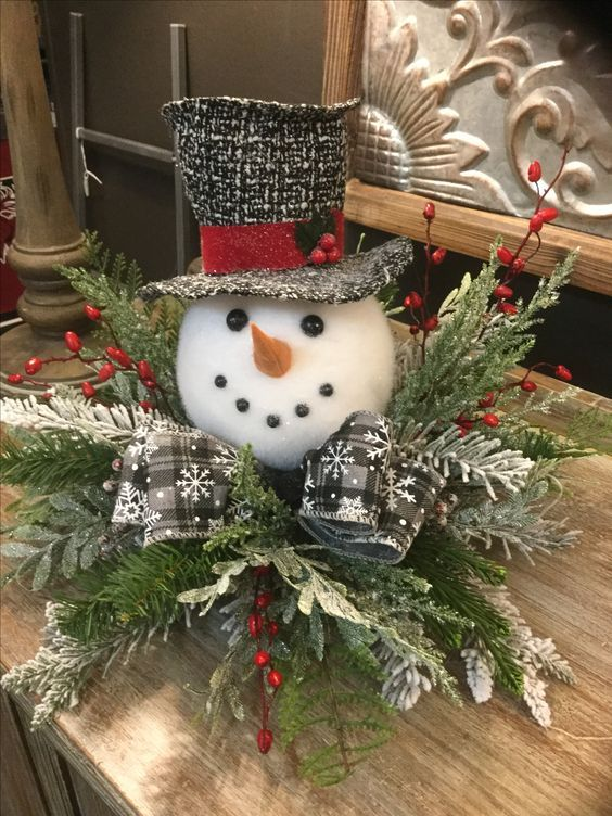 50 Christmas Table Decoration Ideas - Settings and Centerpieces for Christmas Table. «