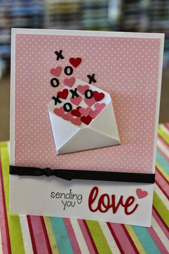 50 Amazing Ideas For Valentine Handmade Cards